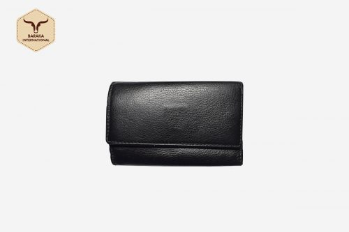 BI-31003 | Leather Key Case Wallet With Cow Nappa Finish