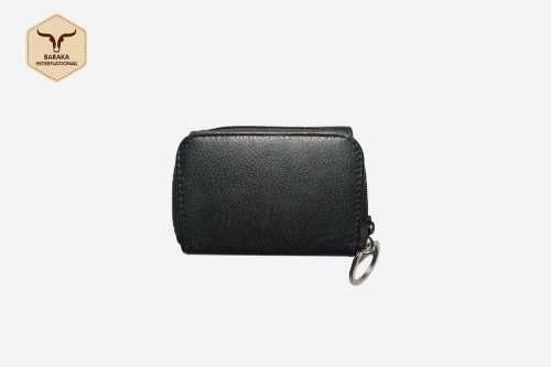 BI-31010 | Cow Leather Pouch Wallet With Compartments And RFID Blocking
