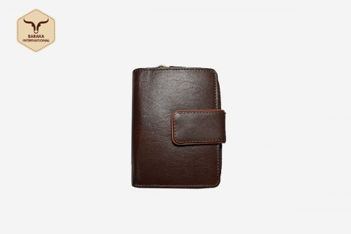 BI-28025 | Brown Clutch Wallet Made With Cow VT Leather Finish