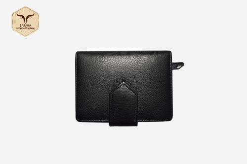 BI-28015 | RFID Blocking Ladies Leather Wallet With Cow DDDM Finish