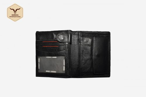 BK-25008 | RFID Protected Leather Wallet With Multiple Card Slots