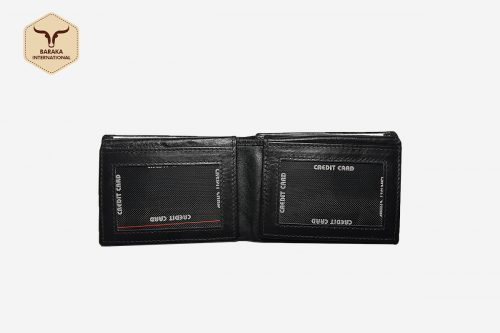 BI-27010 | RFID Protected Cow Leather Wallet With Card Slots